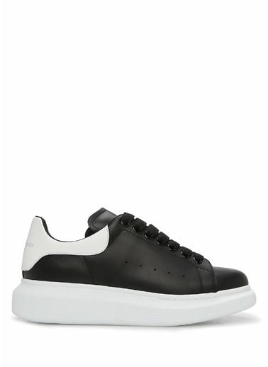 Alexander McQueen Alexander McQueen Oversized   Kadın Deri Sneaker 101611769 Siyah